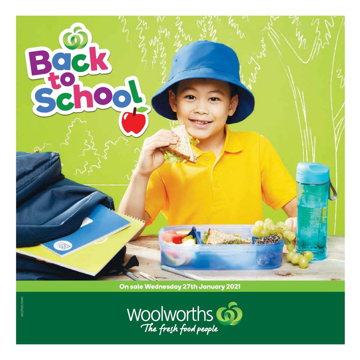 Woolworths Back to School Catalogues from January 27