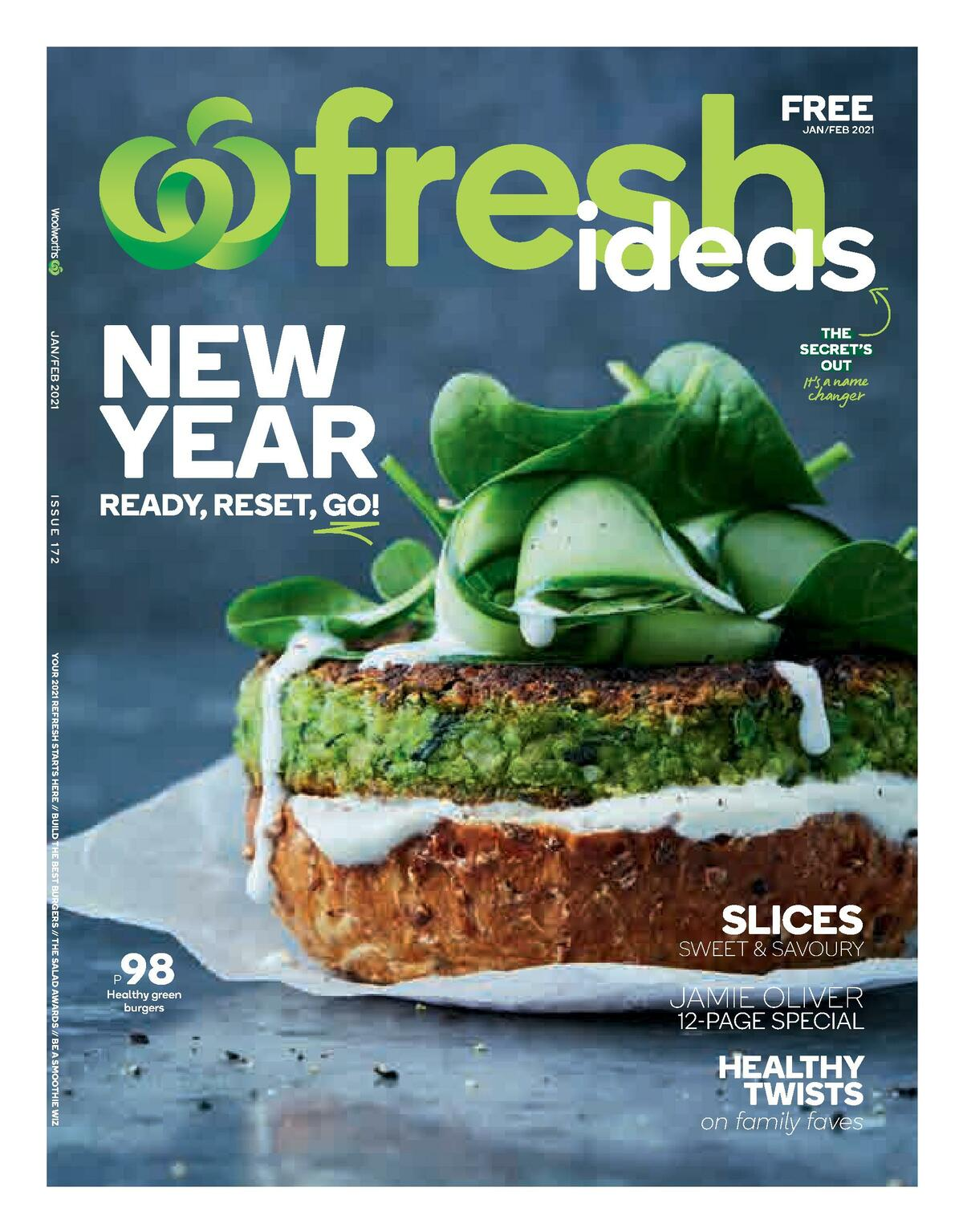 Woolworths Magazine January/February Catalogues from January 1