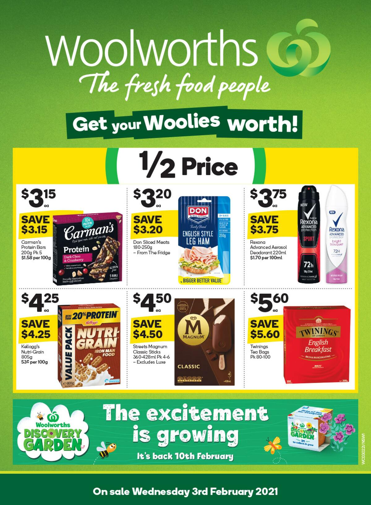 Woolworths Catalogues from February 3