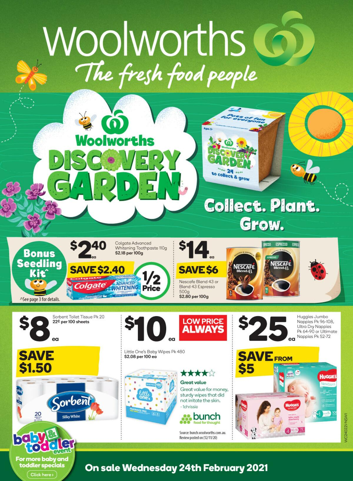 Woolworths Catalogues from February 24