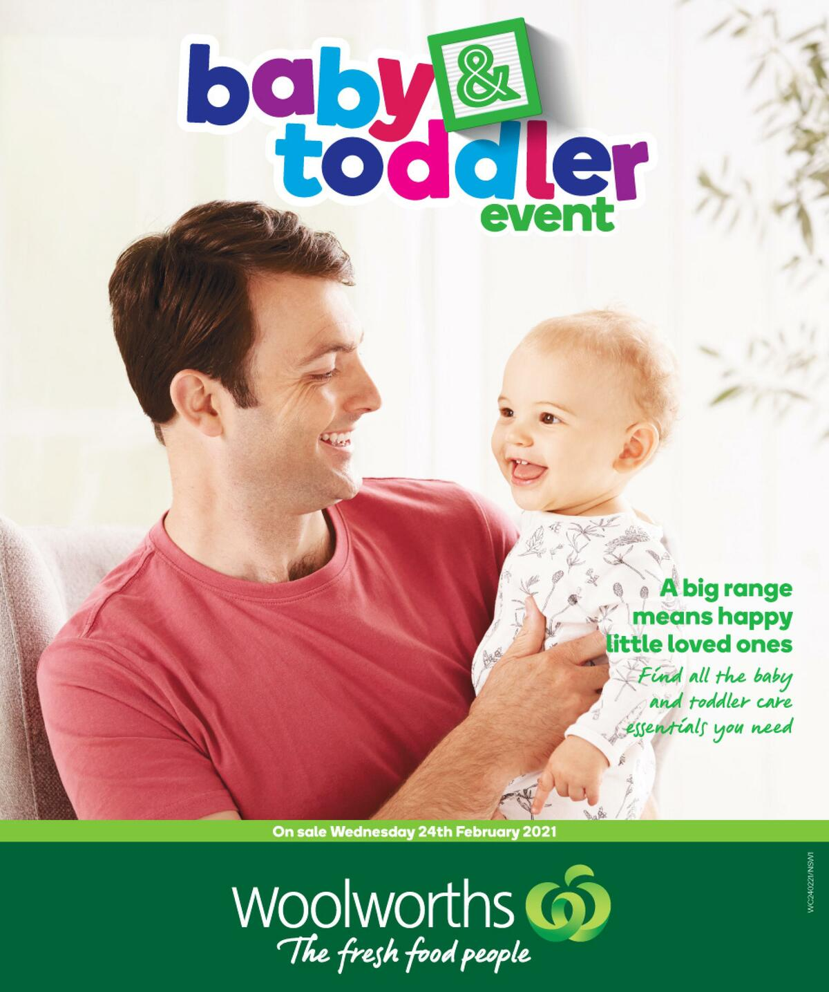 Woolworths Baby & Toddler Event Catalogues from February 24