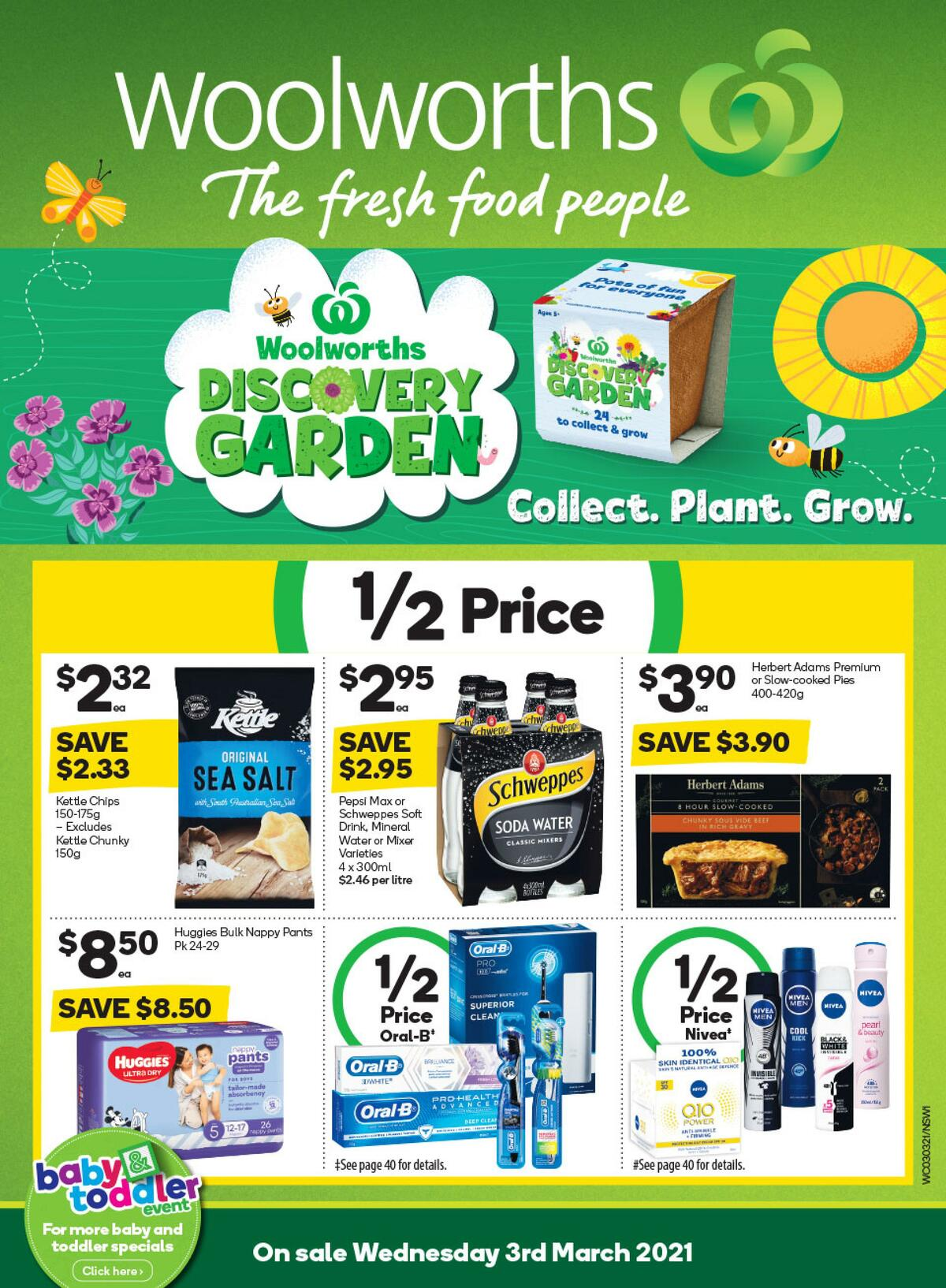 Woolworths Catalogues from March 3