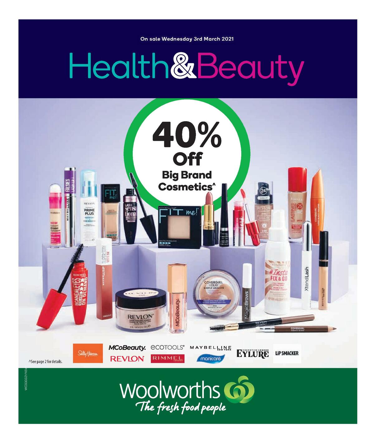 Woolworths Health & Beauty Catalogues from March 3