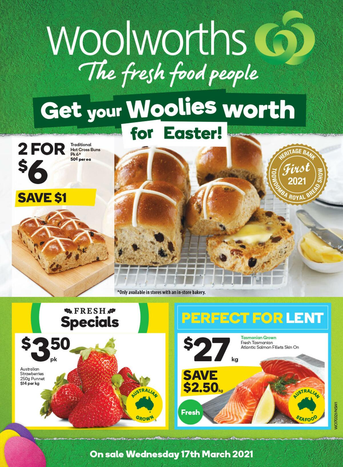 Woolworths Catalogues from March 17