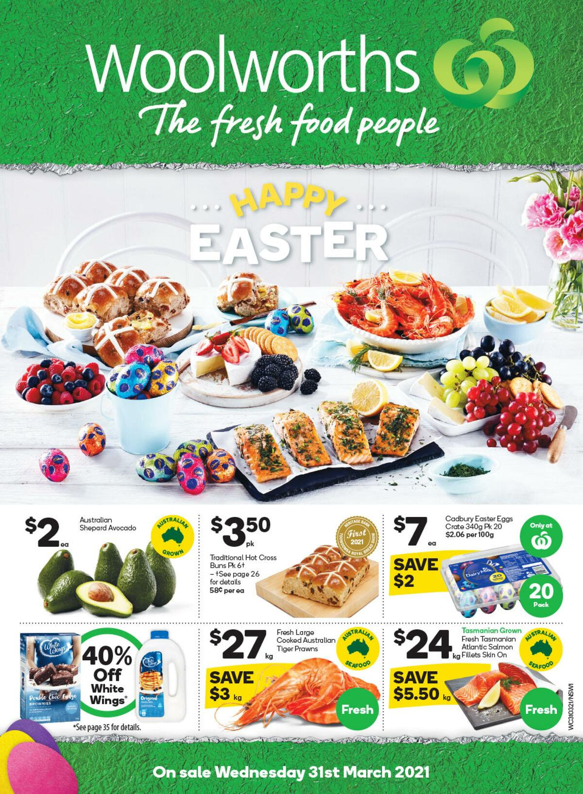 Woolworths Catalogues from March 31
