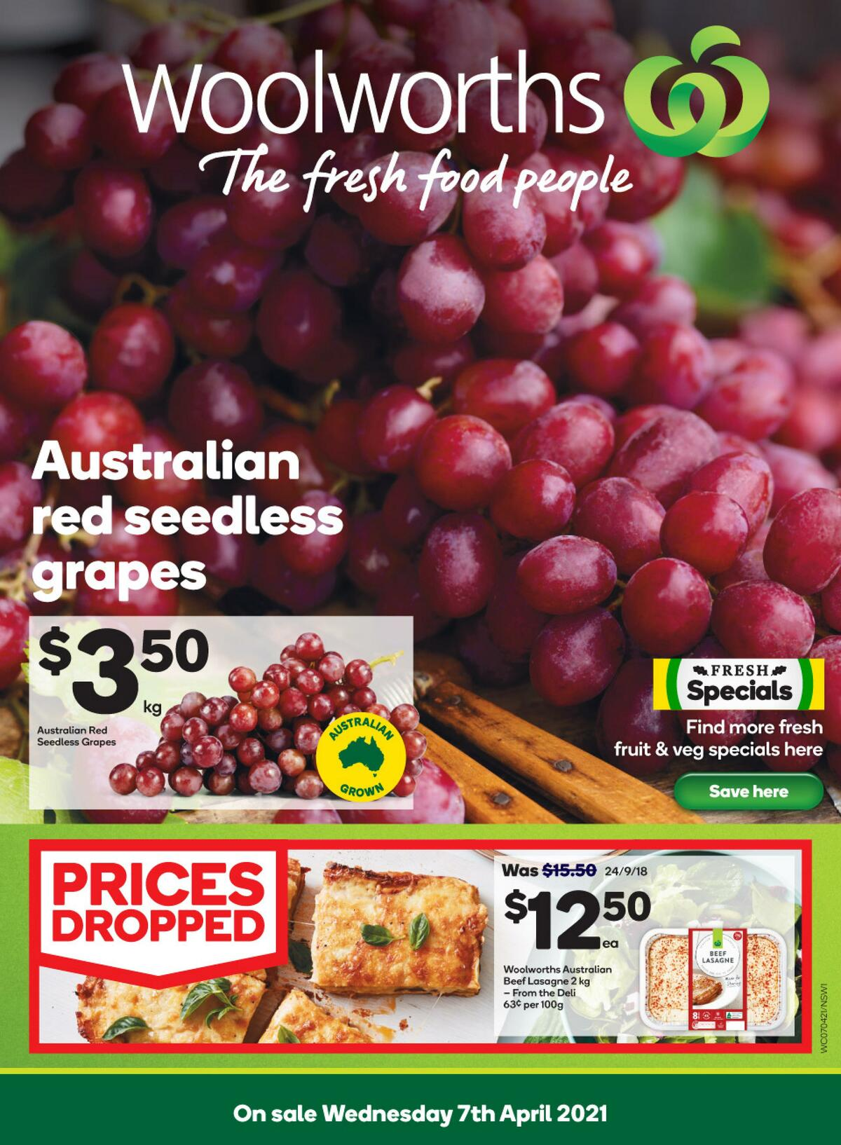 Woolworths Catalogues from April 7