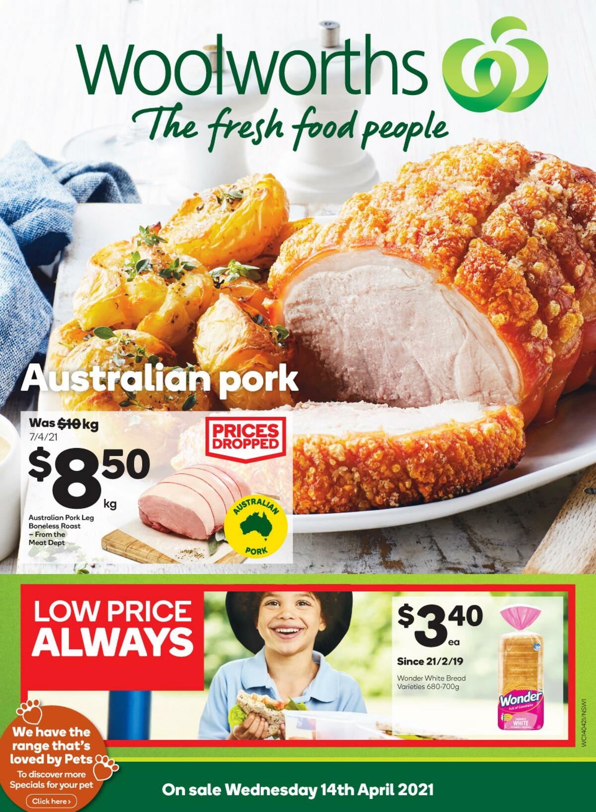 Woolworths Catalogues from April 14