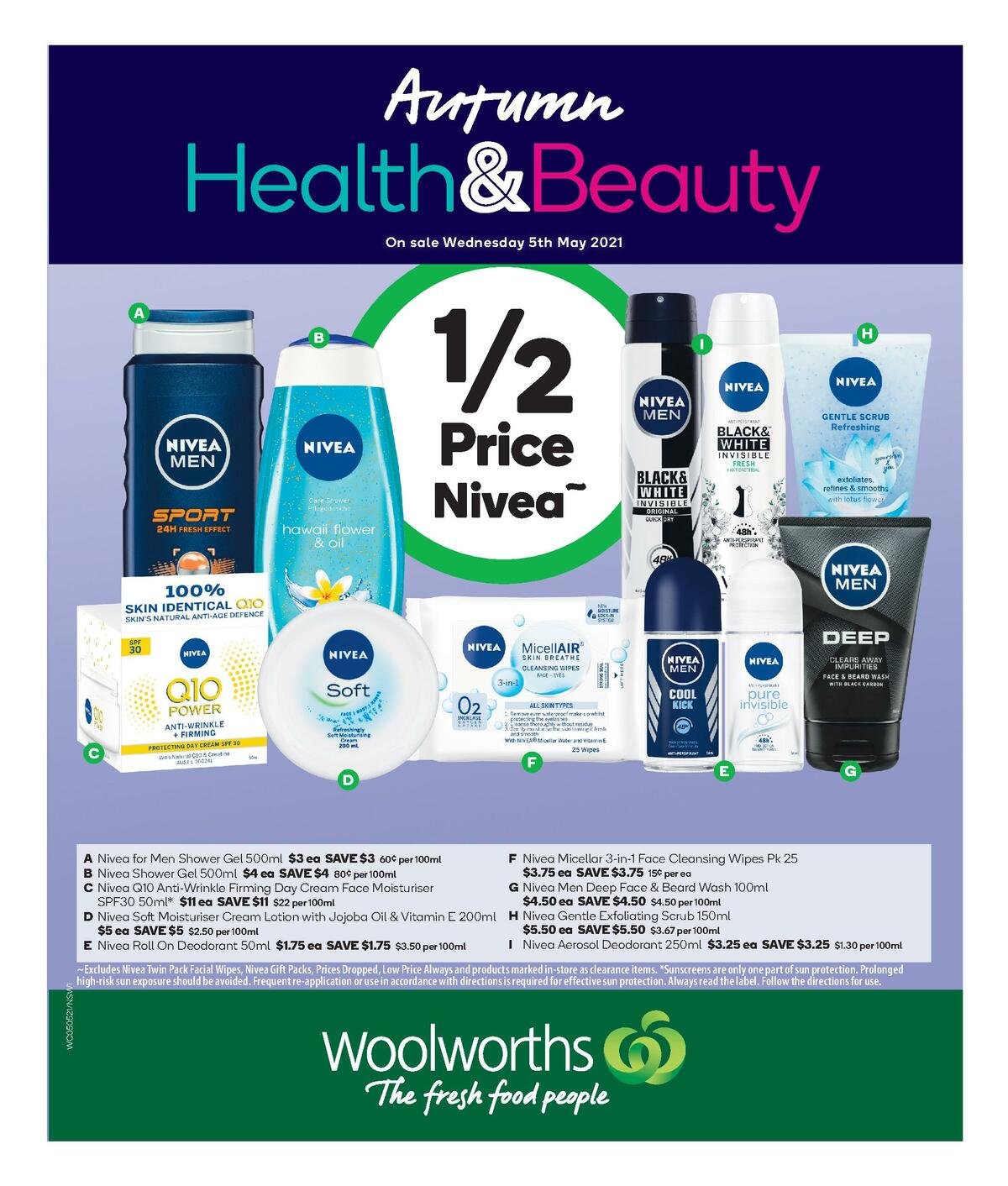 Woolworths Health & Beauty Catalogues from May 5