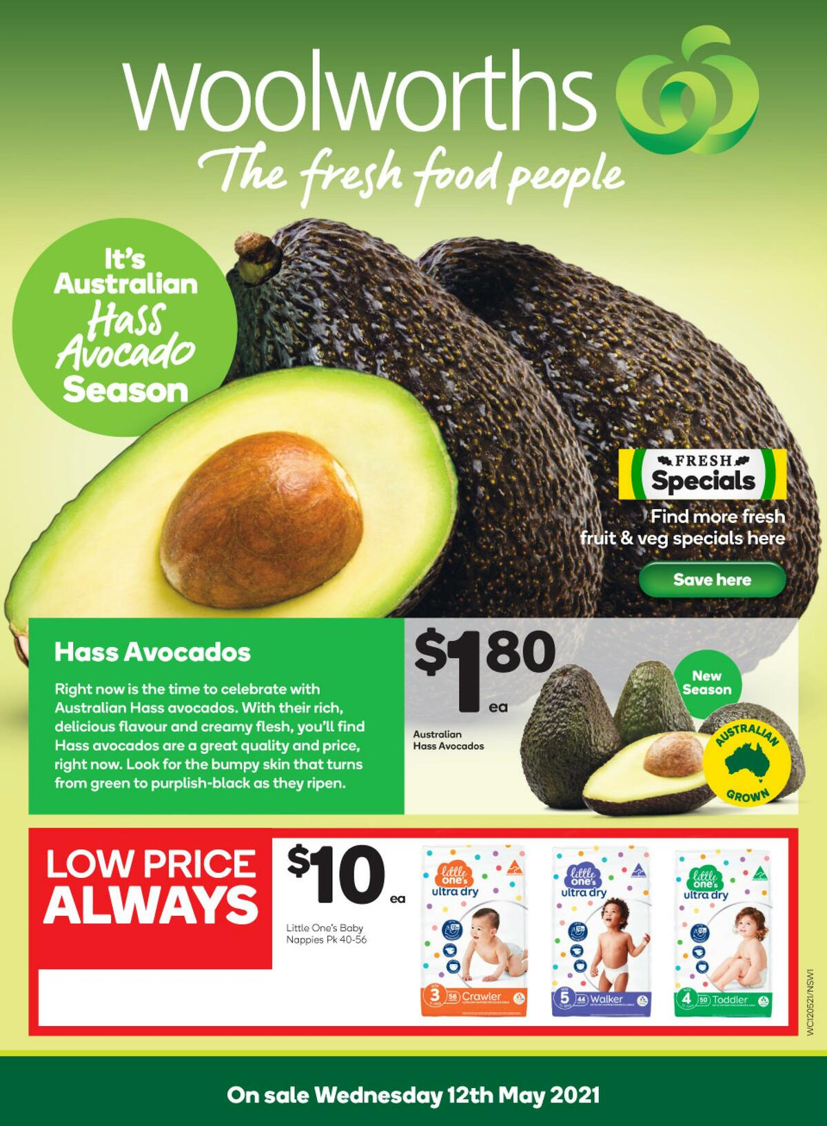 Woolworths Catalogues from May 12