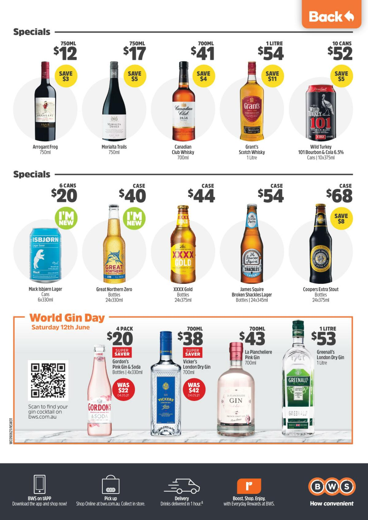 Woolworths Catalogues from June 9