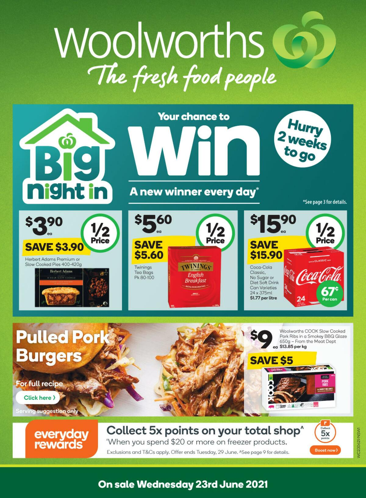 Woolworths Catalogues from June 23