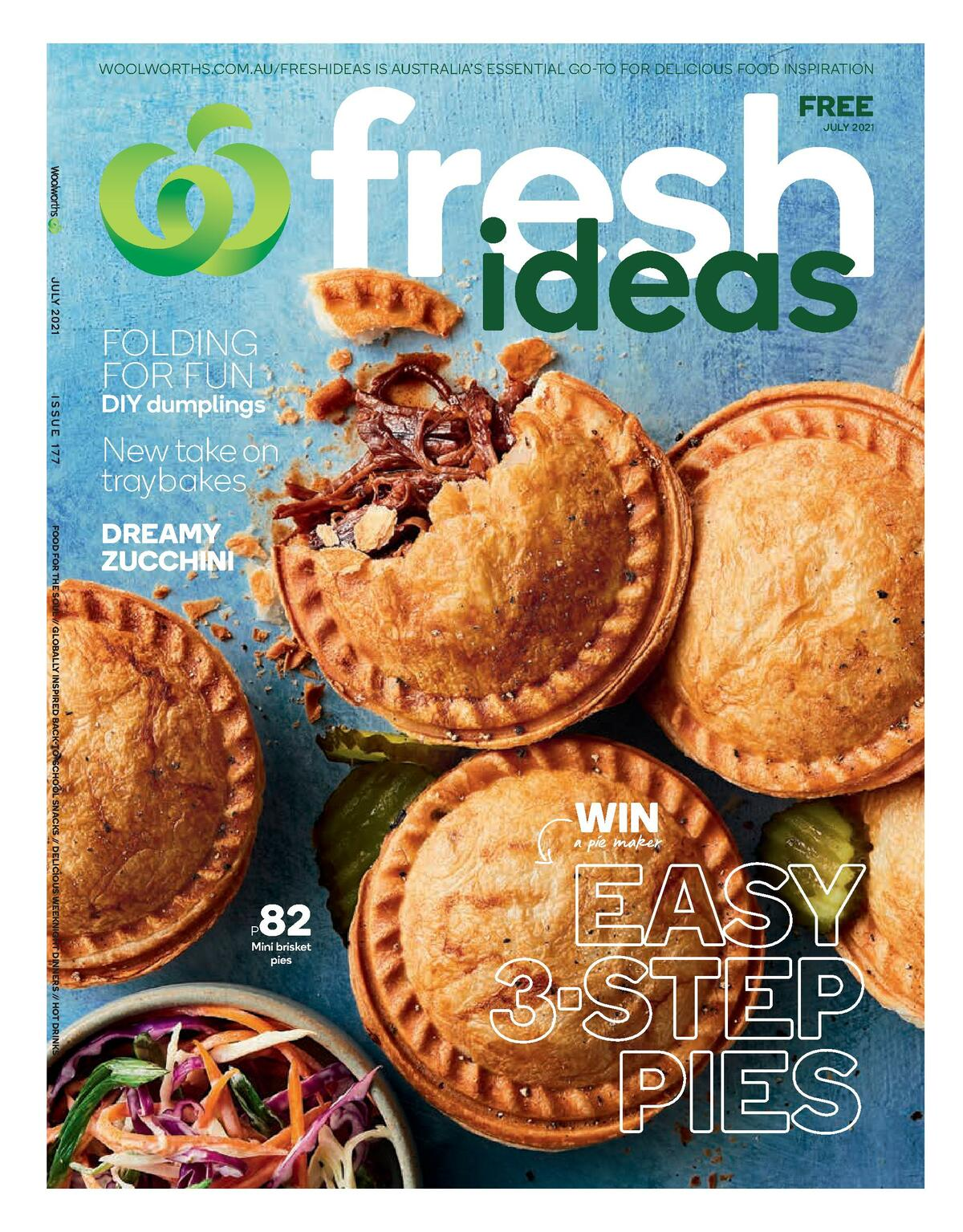 Woolworths Magazine July Catalogues from July 1