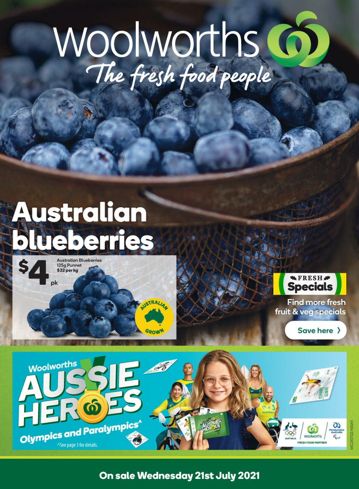 Woolworths Catalogues from July 21