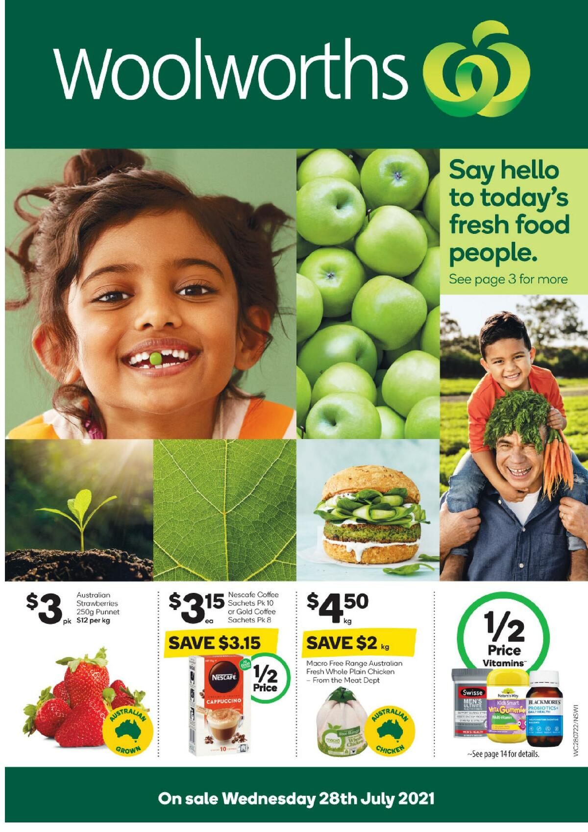 Woolworths Catalogues from July 28