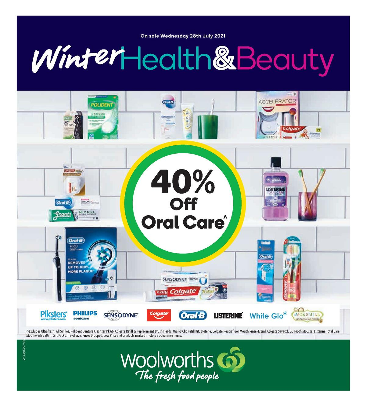 Woolworths Health & Beauty Catalogues from July 28