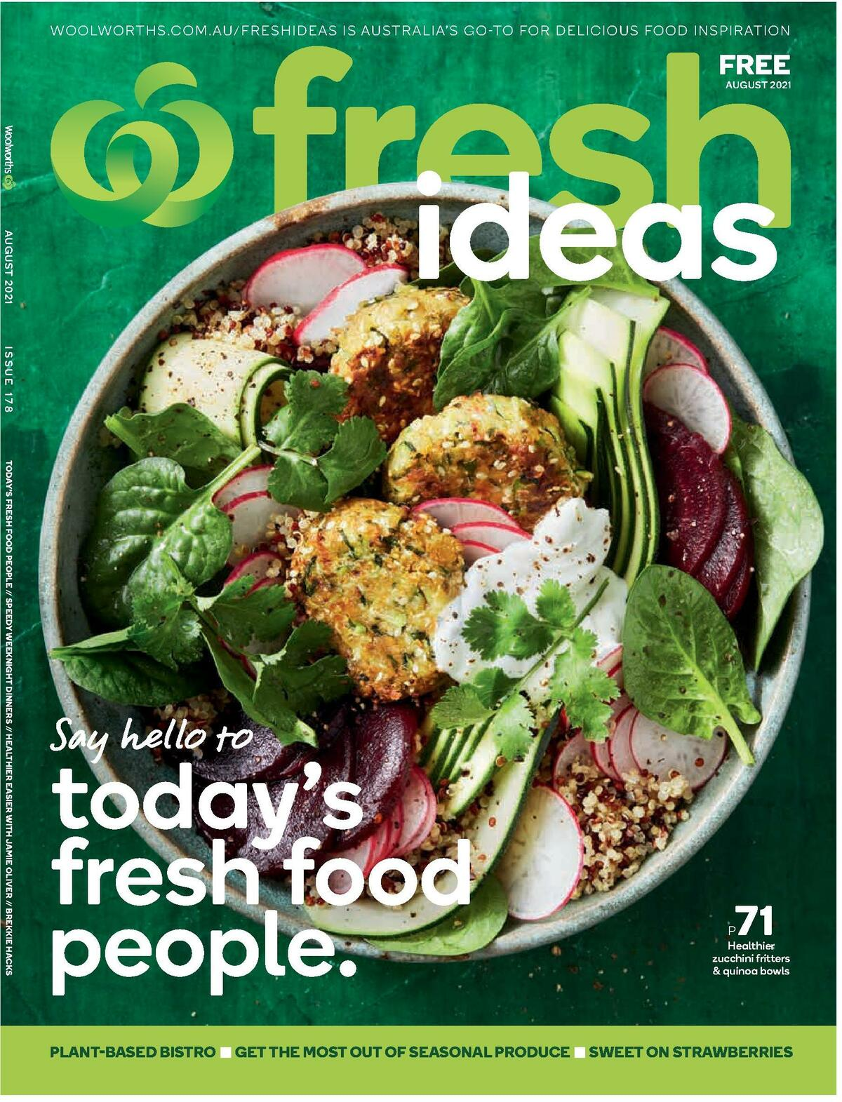 Woolworths Magazine August Catalogues from August 1