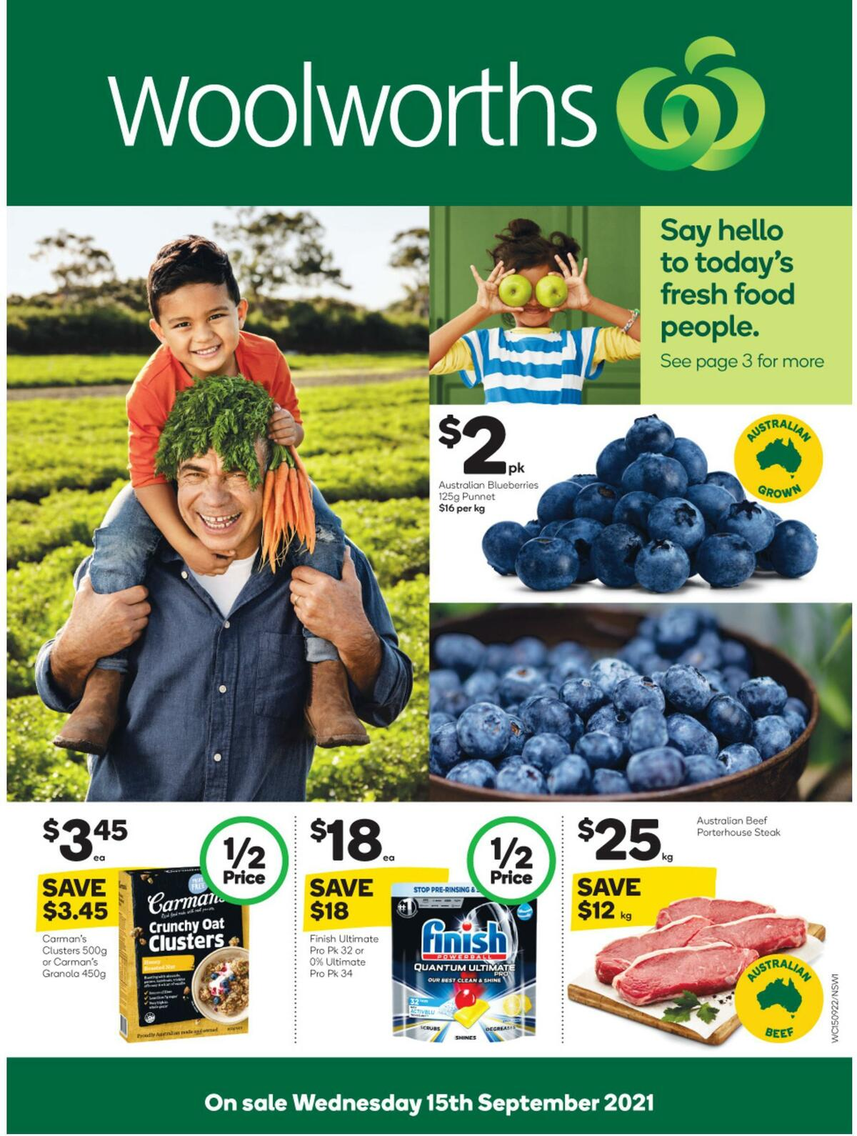 Woolworths Catalogues from September 15