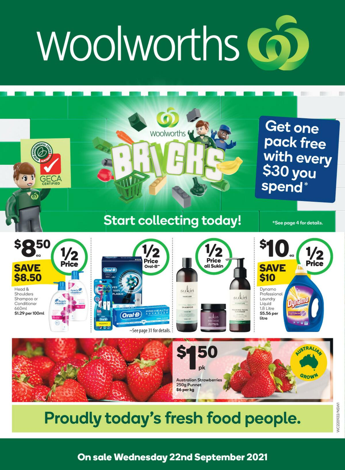 Woolworths Catalogues from September 22