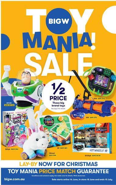 Big W Toy Mania Sale!