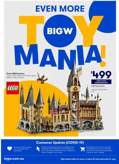 Big W Even More Toy Mania!