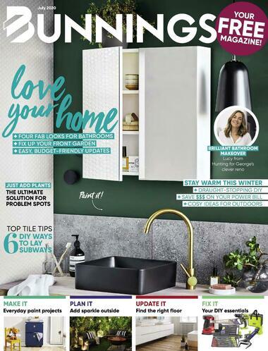 Bunnings Warehouse Magazine July