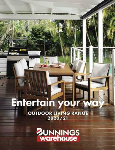 Bunnings Warehouse Outdoor Living Range Book