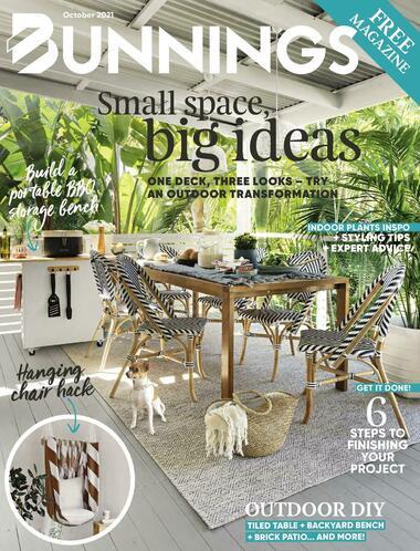 Bunnings Warehouse Magazine October