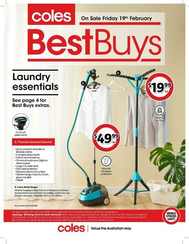 Coles Best Buys - Laundry