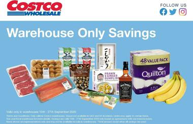 Costco Warehouse Savings