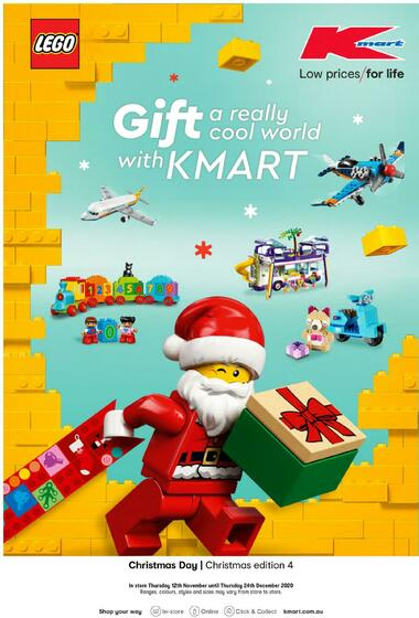 Kmart Gift a Really Cool World with Kmart