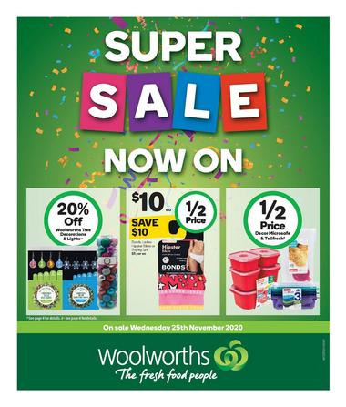 Woolworths Super Sale